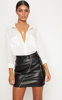 Black PLT Skirt