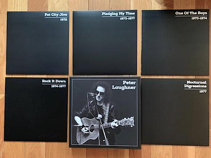 Massive Peter Laughner 5 LP box due from Smog Veil in August