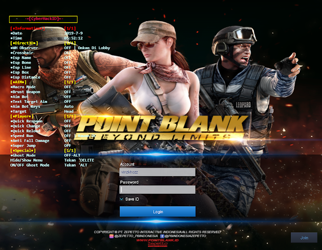 Cheat Point Blank Zepetto 11 Juli 2019 | V3