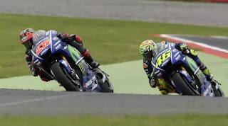 Vinales-Rossi Start Terdepan Race MotoGP Le Mans Prancis 2017