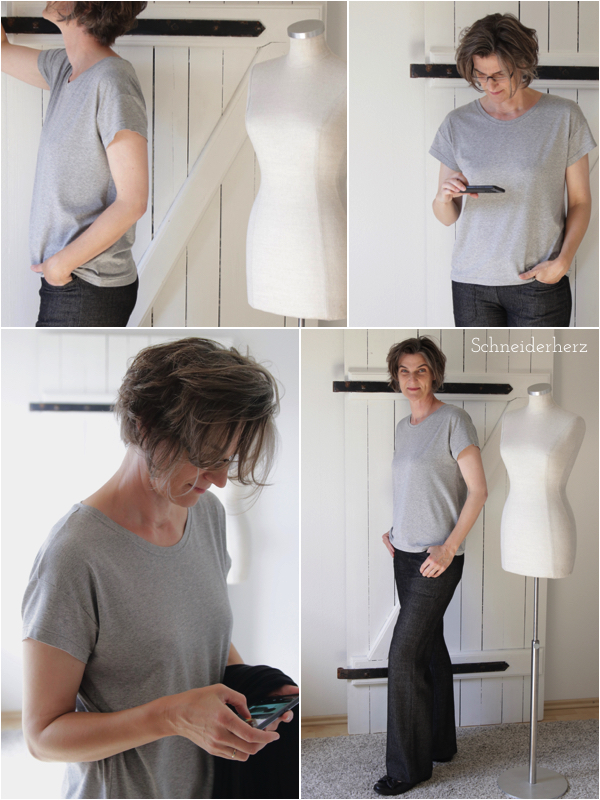 Lockeres T-Shirt nähen