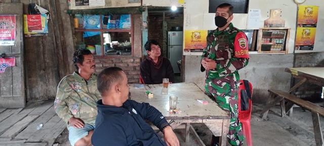 Demi Kesehatan Warga Binaan, Personel Jajaran Kodim 0207/Simalungun Himbau Patuhi Protokol Kesehatan