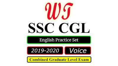 SSC CGL 2020 English Voice Practice Set Free PDF Download