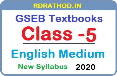 Download Std 5 English Medium Textbooks From Gseb Rdrathod In