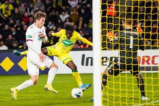 Super Eagles winger speaks for the first time after joining French club on permanent deal
