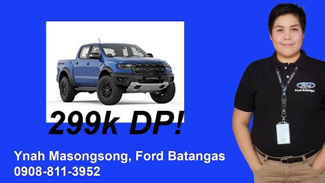 2019 Ford RANGER RAPTOR as low as 299k Downpayment - Ynah Masongsong