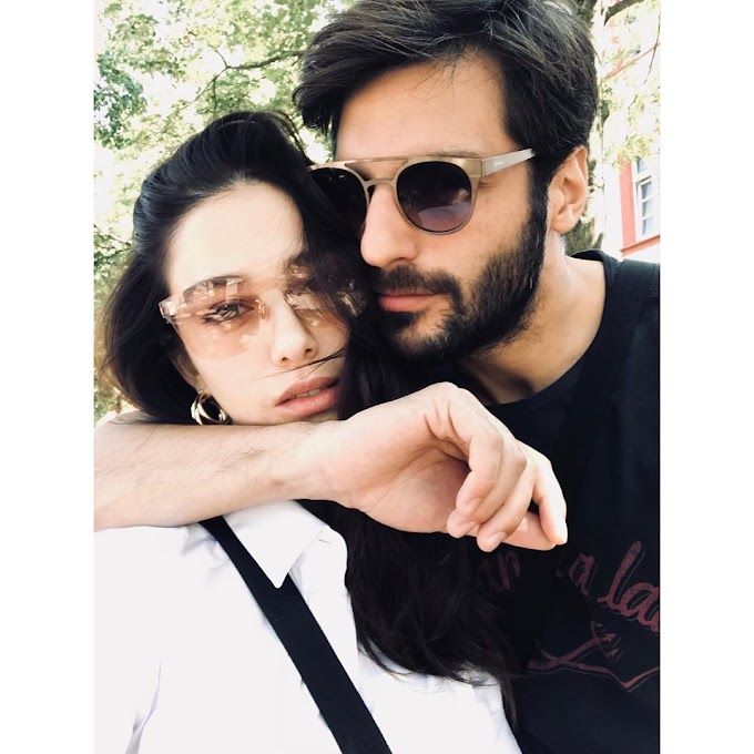 "Özge Gürel's romantic message to Serkan Cayoglu: ""I have found a sea by your side"""