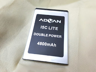 Baterai Handphone Advan I5C Lite I5C Duo Double Power 4800mAh (New)