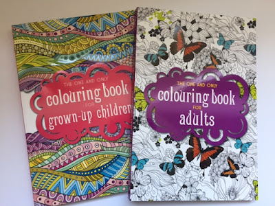 Book review - The One and Only Colouring Book Series