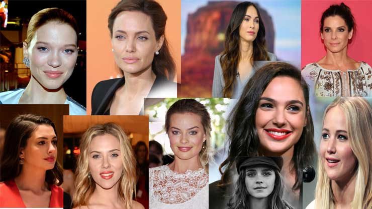 Most Beautiful Hollywood actresses 2020