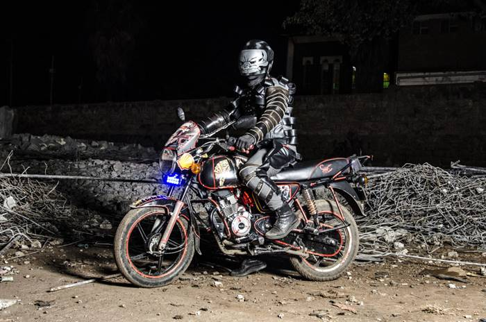 Jan Hoek  Boda Boda Madness   Motorcycle taxi drivers in Nairobi