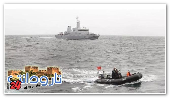 البحرية الملكية تقدم المساعدة لـ15 قاربا للهجرة السرية