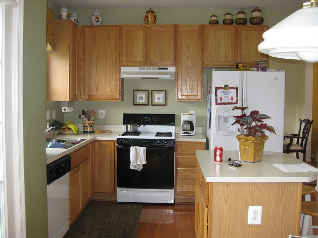 Closing Space Above Kitchen Cabinets