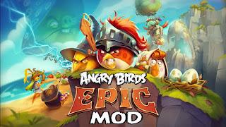 angry bird epic rpg mod apk