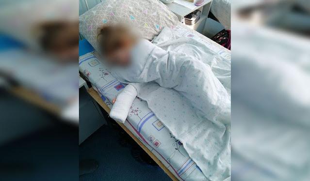 Трёхлетняя девочка лишилась части пальца в детском саду в Тольятти