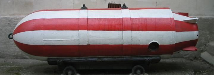 авіаційні магнітні донні міни АМД-2М