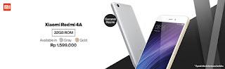 Harga Xiaomi Redmi 4a 32GB garansi resmi