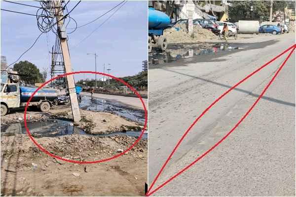 faridabad-ankheer-road-keechad-gandagi-mcf-sarkar-may-take-care
