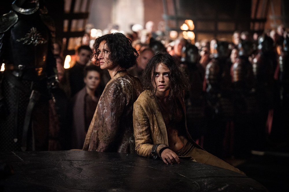 Ellaria y Tyene Arena
