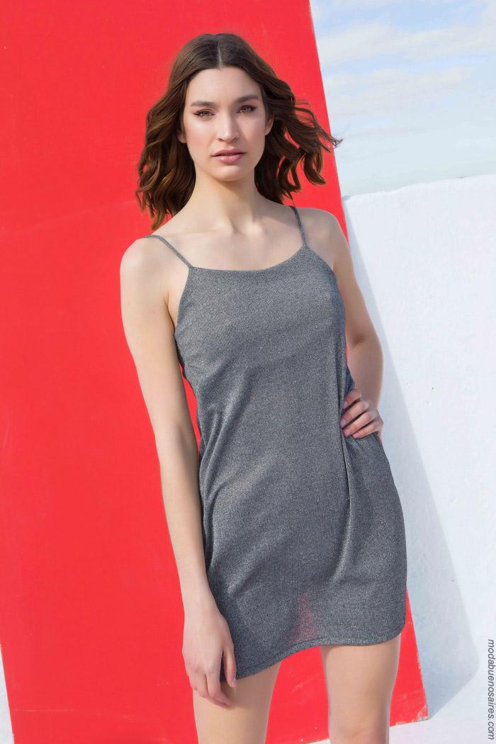 vestidos cortos de moda primavera verano 2020