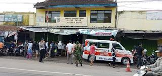 Ratusan Pedagang Pasar Balung  Ikuti Rapid Test