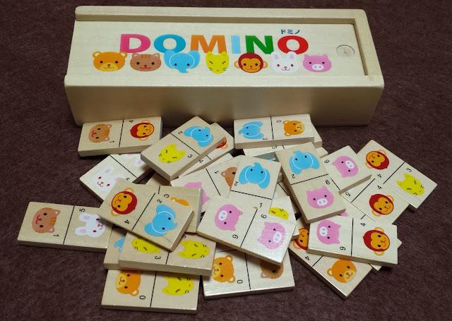 ドミノ domino 倒さない方のドミノ
