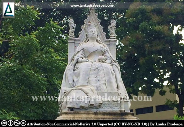 Queen Victoria Statue, Colombo