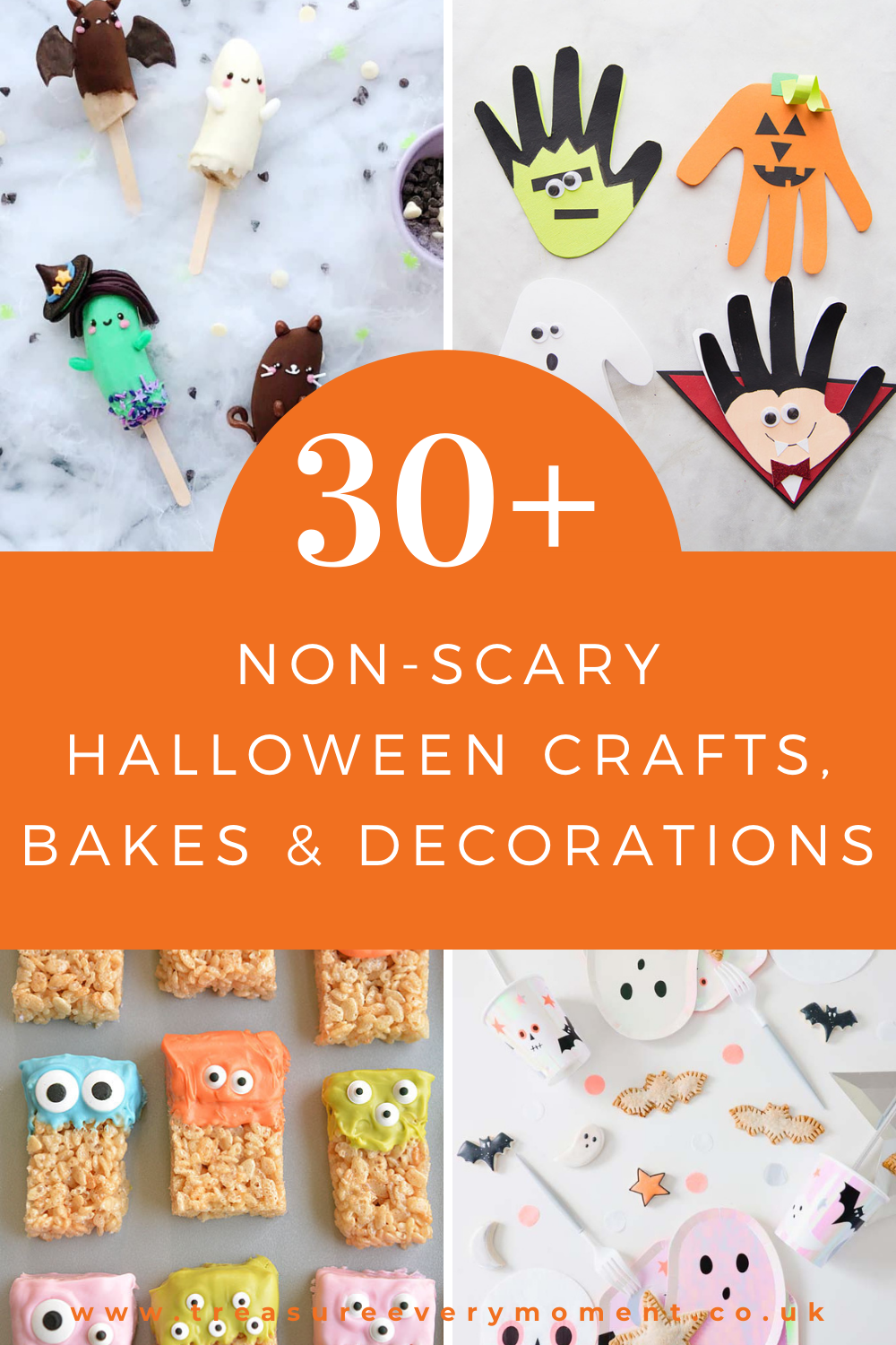 HALLOWEEN: 30+ Non-Scary Crafts, Bakes and Decorations