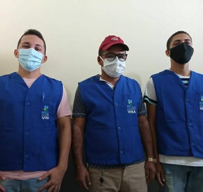 Vigilância Sanitária de Mata Roma esteve fazendo visitas técnicas nas lojas e comércios da cidade de Mata Roma