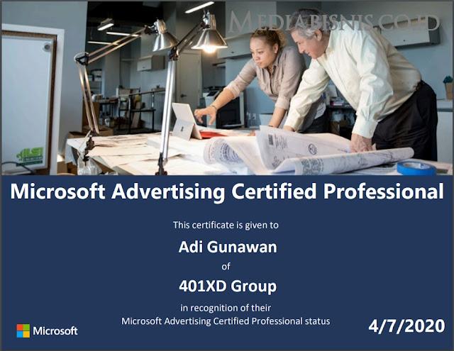 Jawaban Microsoft Advertising Certified Professional