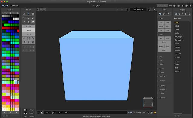MagicaVoxel Editor Window