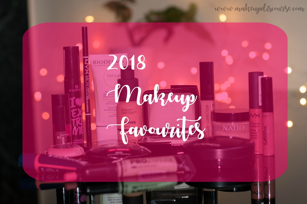 2018 Makeup Favourites, Hourglass Ambient Lighting Powder Diffused, The ordinary serum foundation, Kryolan lip n cheek tint in dahlia