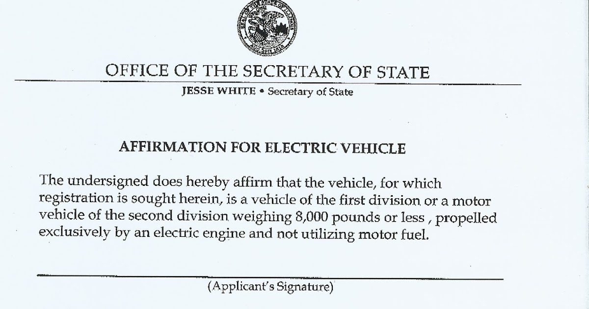 picture about Vsd 190 Printable Form identified as Fresh new 2012 Mitsubishi iMiEV: ILLINOIS Electric powered Auto PLATES