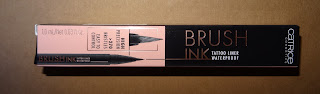 Review Catrice Brush Ink Tattoo Liner Waterproof