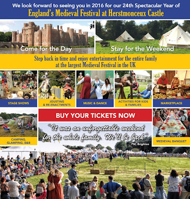 Win a Family Day Pass to England's Medieval Festival 2016