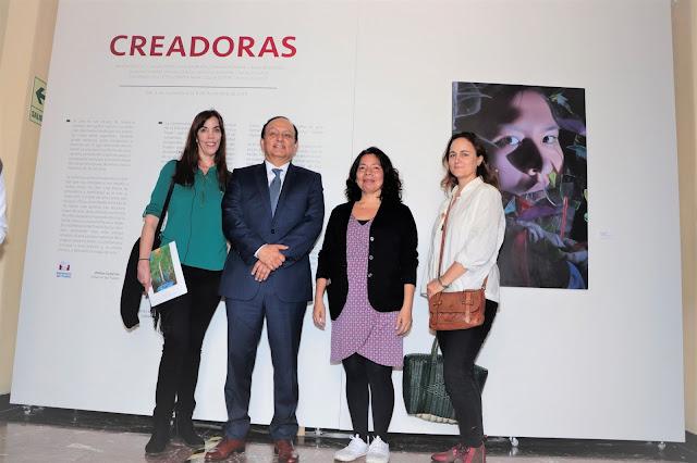 Inauguración Exposición Creadoras Defensoría del Pueblo