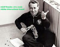 Photo- Adolf Dassler, who made Adidas International brand