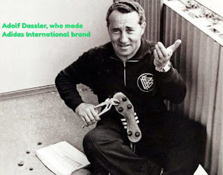 Photo- Adolf Dassler, who made Adidas International brand