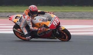 Marquez Tercepat Latihan Bebas FP4 MotoGP Jerez Spanyol 2017