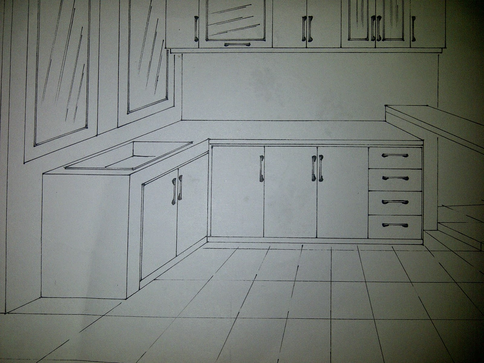 cara perhitungan biaya kitchen set