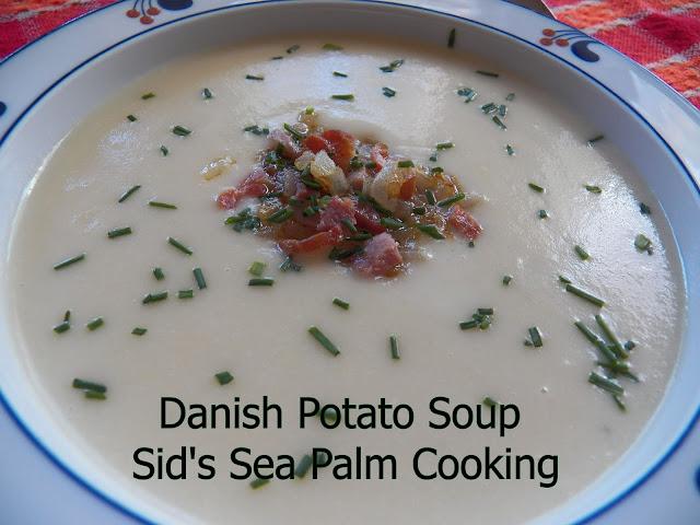 Danish Potato Soup (Dansk kartoffelsuppe)