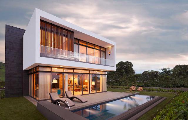 New Model House Elevation