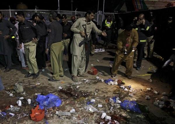 Unos 30  muertos  atentado de Pakistán son niños