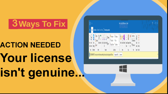 How to fix,microhow to remove your copy of office is not genuine,how to fix Your license is not genuie and you may be a victim of software counterfeiting