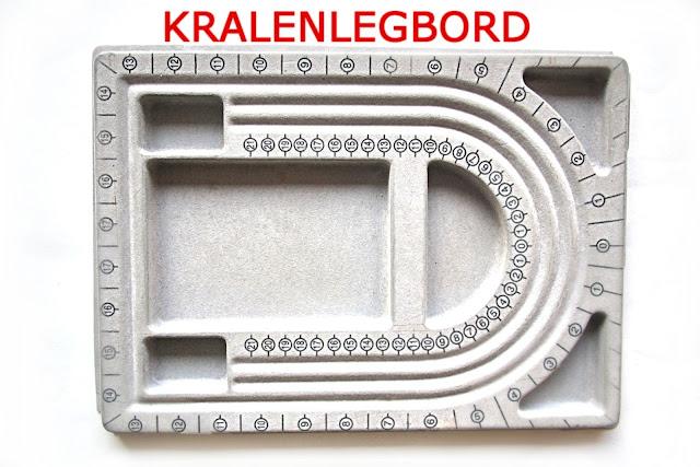 kralenlegbord - bead board