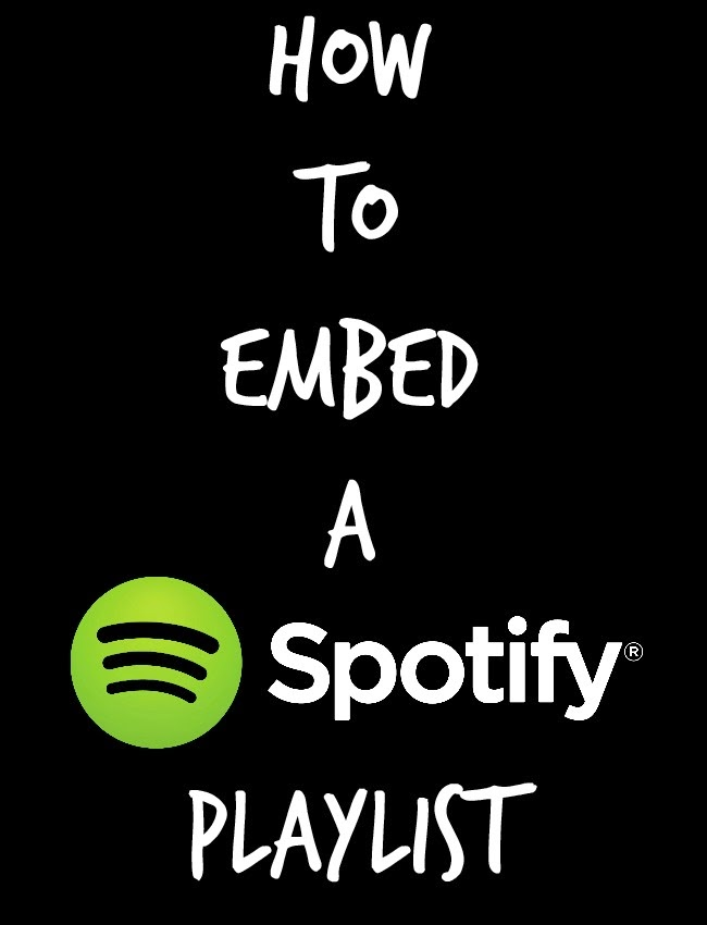 How To Embed A Spotify Playlist