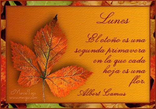 mensajes de otoño
