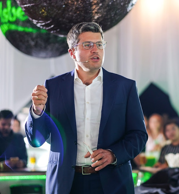 Ted Akiskalos, Managing Director of Carlsberg Malaysia