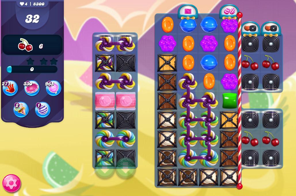 Candy Crush Saga level 8300