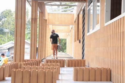 SDN 4 Medas Lombok Barat Menjadi Sekolah Plastik Blok Yang Pertama Didunia